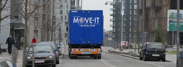 Move IT Truck til internationale flytninger