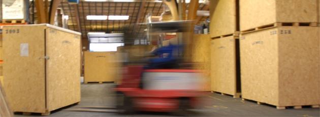 Pakning af internationale flyttekasser